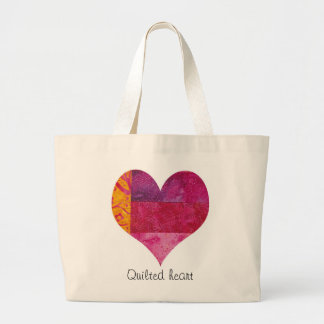 Quilted Heart Tote Tote Bag