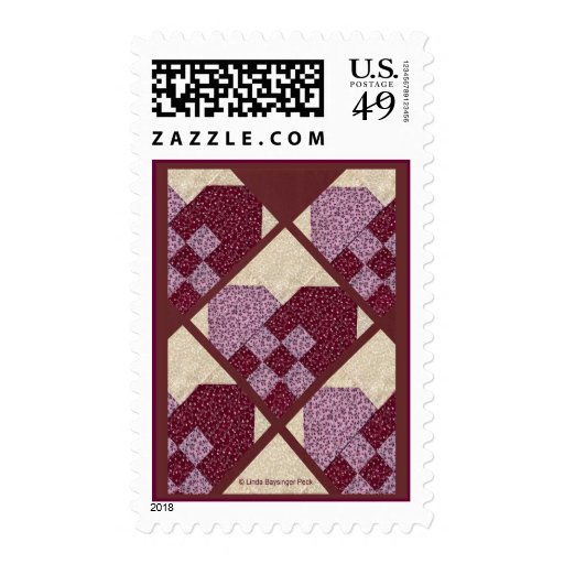 Quilted Hearts Stamps