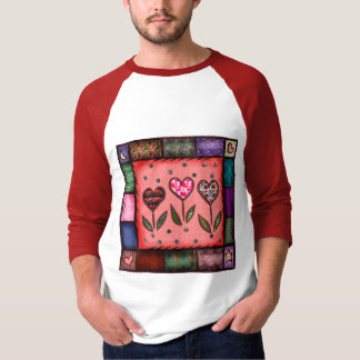 Quilted Hearts T-shirts and Gifts