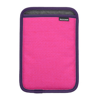 Quilted Hot Pink iPad Mini Sleeve