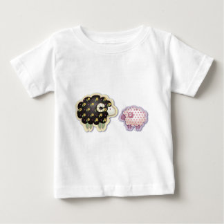 Quilted Lambs Baby T-Shirt