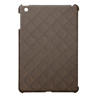 Quilted Look Brown iPad Mini Covers