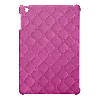 Quilted Look Pink iPad Mini Covers