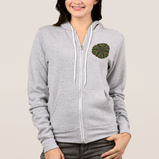 Quilted Mandala In Every Color Hoodie