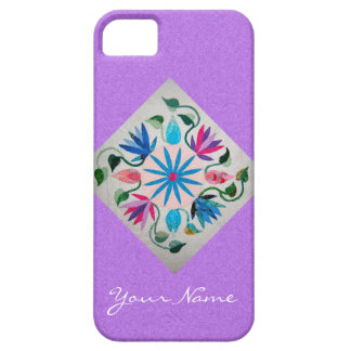 Quilted Personalized iPhone 5S and 5 Case