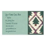 Quilted Pine Tree business card