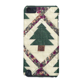 Quilted Pine Trees iPod Touch 5G Covers