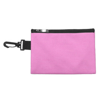 Quilted Pink Accessories Bags
