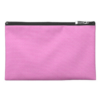 Quilted Pink Travel Accessories Bags