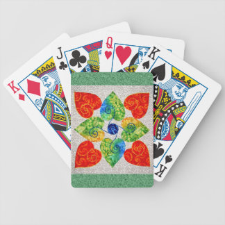 Quilted Playing Cards
