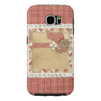 Quilted Pleasure Plaid & Lace Cover