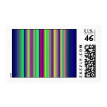 Quilted Rainbow Postage Stamp