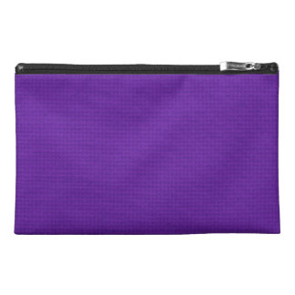 Quilted Royal Purple Travel Accessory Bag