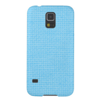 Quilted Sky Blue Galaxy S5 Cover