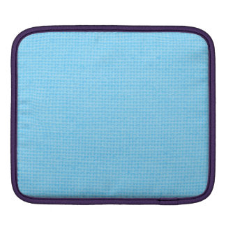 Quilted Sky Blue Sleeve For iPads