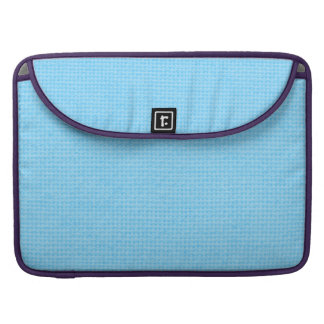 Quilted Sky Blue Sleeve For MacBook Pro