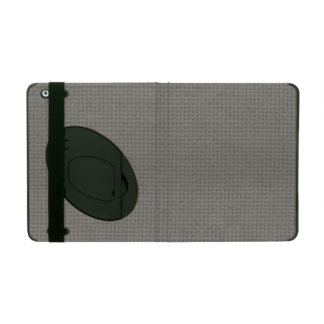 Quilted Smoke iPad Cover
