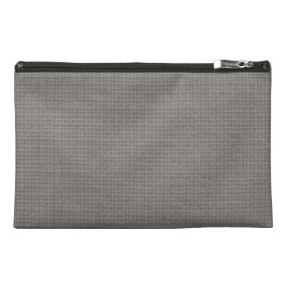 Quilted Smoke Travel Accessory Bags