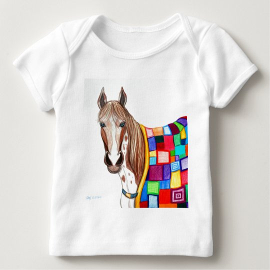 Quilted Stallion Baby T-Shirt