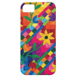 Quilted Sunflowers Case for iPhone 5 or 5S