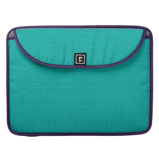 Quilted Teal Sleeve For MacBooks