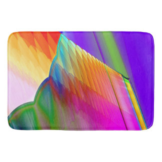 Quilted Tectonic Thrust Bath Mats