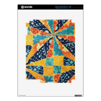 Quilted Under the Sea iPad 2 Skin