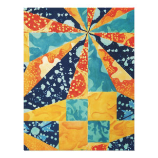 Quilted Under the Sea Letterhead
