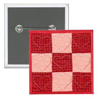 Quilted Valentine Pin