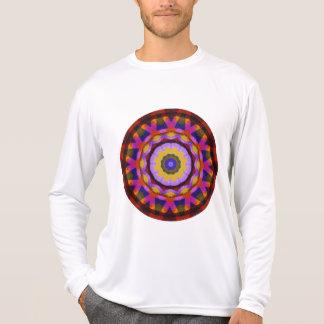 Quilted Wagon Wheels Mandala, Abstract Fun Shirt