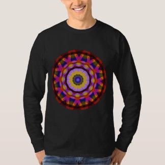 Quilted Wagon Wheels Mandala, Abstract Fun Tshirts