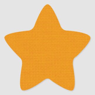Quilted Wildfire Star Sticker