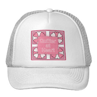 Quilter At Heart Hat