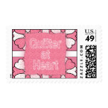 Quilter At Heart Postage Stamps