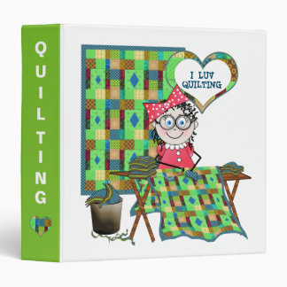 QUILTER BINDER - QUILTING WITH MELODY