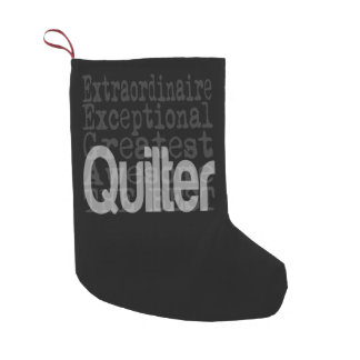 Quilter Extraordinaire Small Christmas Stocking