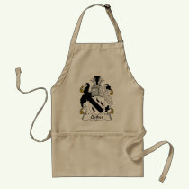 Quilter Family Crest Apron