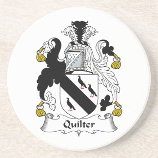 Quilter Family Crest Coasters