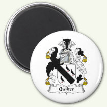 Quilter Family Crest Magnet