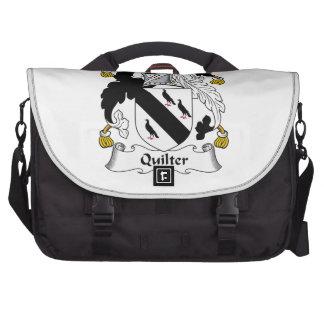 Quilter Family Crest Laptop Bag
