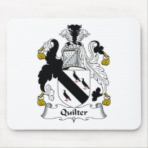 Quilter Family Crest Mousepad