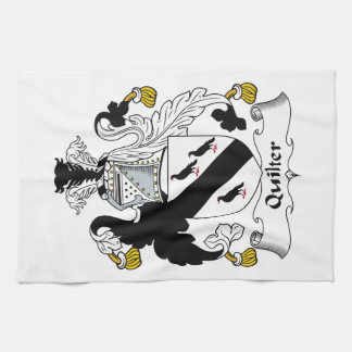 Quilter Family Crest Towels
