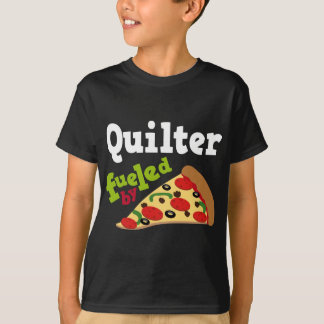 Quilter (Funny) Pizza T-Shirt