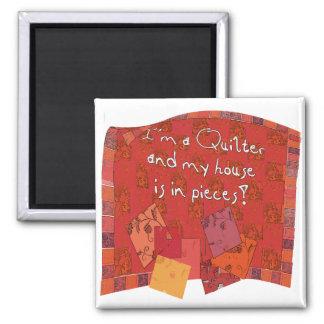 quilter II Fridge Magnet