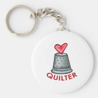 Quilter Keychains
