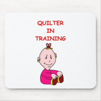 QUILTER MOUSE PAD