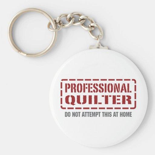 Quilter profesional llaveros personalizados