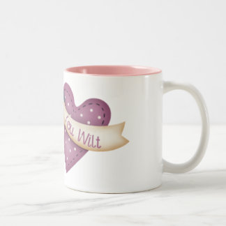 Quilter que se marchita taza de café