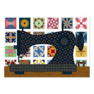 Quilter/tarjeta de la costurera - SRF Tarjetas De Visita Grandes