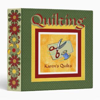 Quilters Album Vinyl Binder